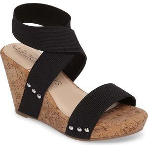 Sole Society Analisa platform cork wedge sandal